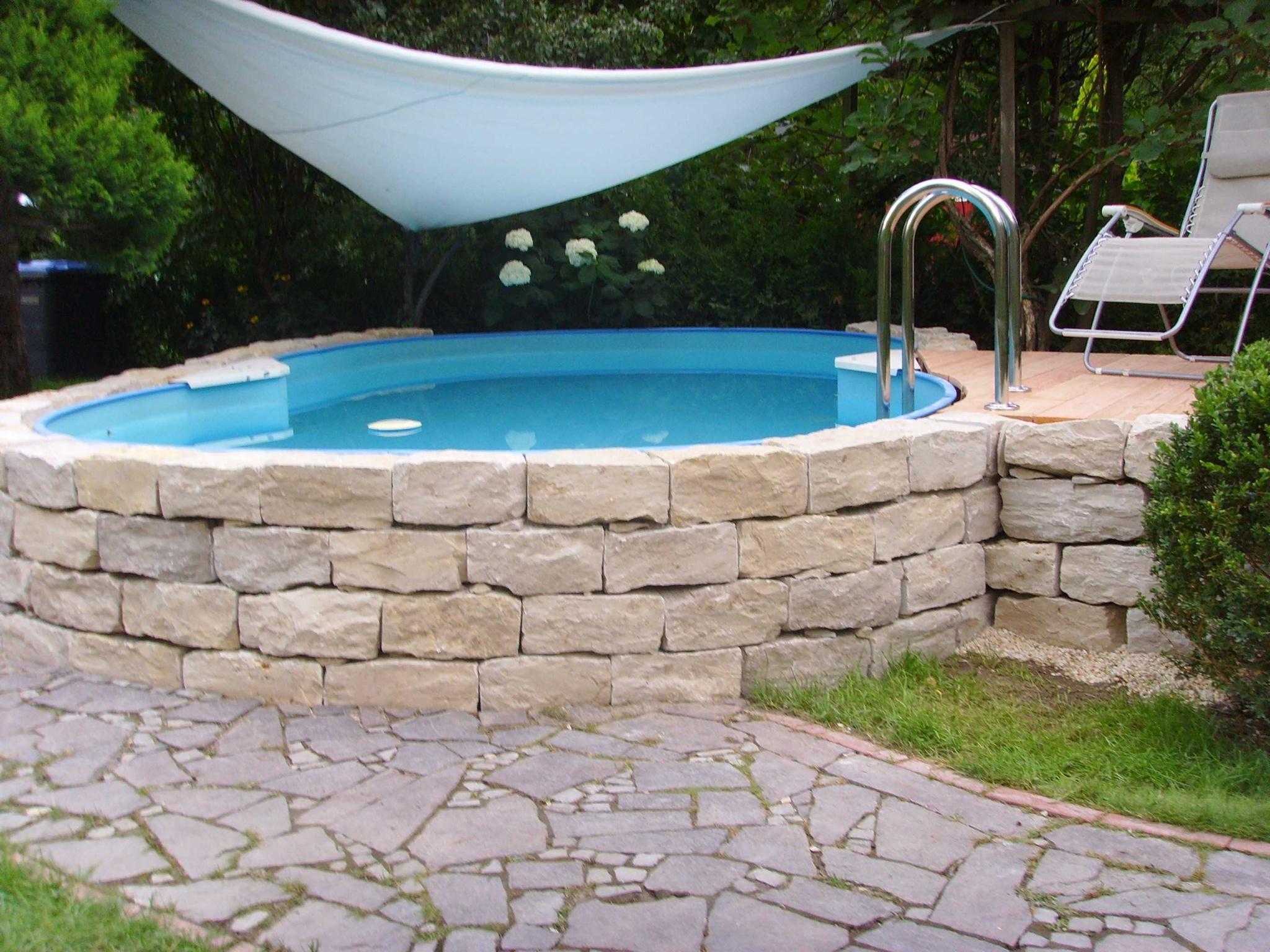 reihenhausgarten pool – flipnation, Garten ideen gestaltung