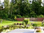 Gartenmauer - geschützter Platz